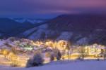 Зима в село Гела. Родопа планина