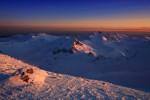 Пирин планина - залез от връх Полежан.