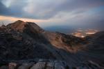 Пирин планина - нощен поглед от района на заслон Кончето.