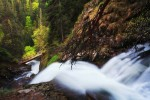 Водопад Сърцето /екопътека Каньон на водопадите/ в близост до гр. Смолян.