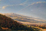 Василоьовска планина и Тетевенски балкан - поглед от връх Острич.