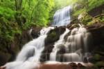 Чипровски водопад - пролетно пълноводие.