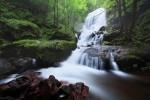 Чипровският водопад на свечеряване