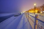 Зима в крайдунавски парк - Видин