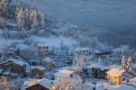 Зима в село Лясково. Родопа планина