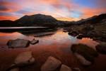 Огнено утро на Муратово езеро
