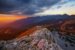 Залез от връх Синаница. Пирин планина