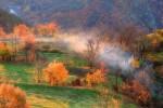 Есенно утро по поречието на река Арда. Родопа планина