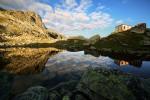 Рила планина. Страшното езеро и едноименният заслон