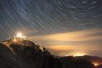 Рила планина - връх Мусала през нощта.