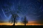 Равнинна звездна нощ.