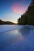 Язовир Широка поляна в ледена премяна