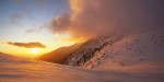 Огнено утро под Малък Мечи връх. Рила