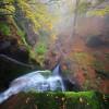 Есен в балкана. Над водопад Ланжин скок.
